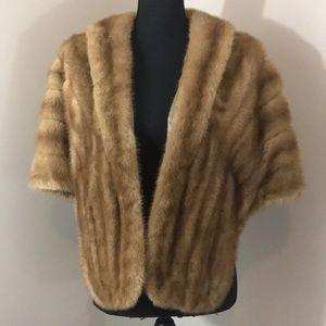 Jackets & Blazers - Vintage Mink stole